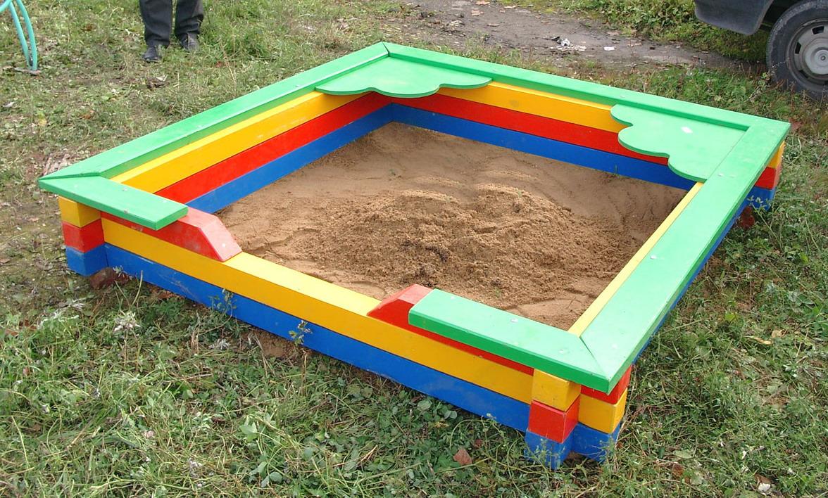 Детская площадка для малышей своими руками фото