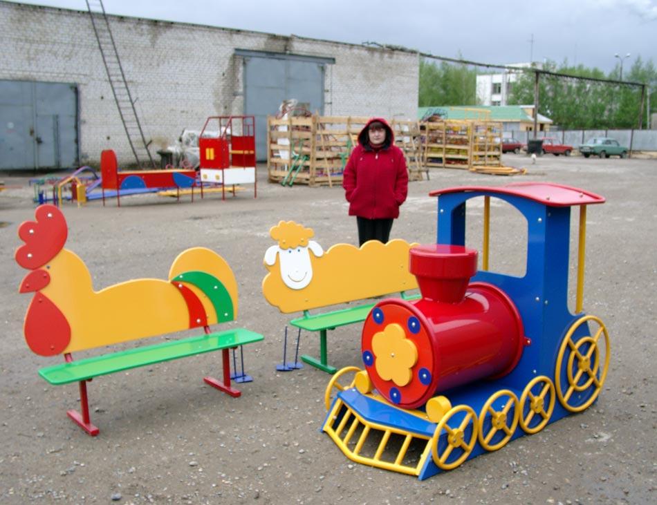 Скамейки для детской площадки своими руками фото